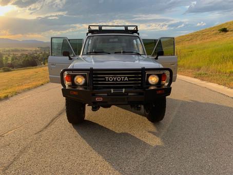 Sold - 1985 FJ60 - 72,100 Miles
