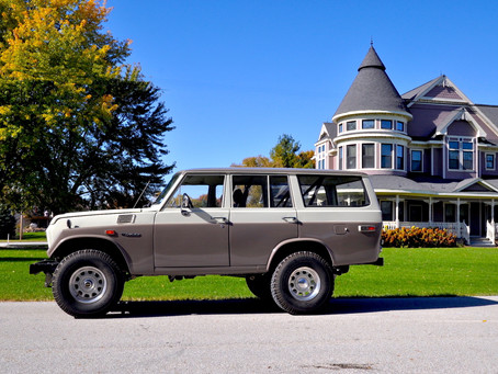 No need to Bring-A-Trailer for this FJ55!