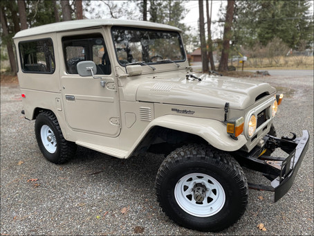 Sold - Stock Idaho 76 Classic