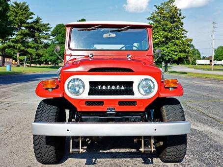 Sold - 1972 FJ40 - 50K miles