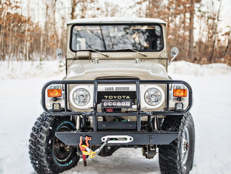 Sold - Sweet 1976 FJ40 5-Speed