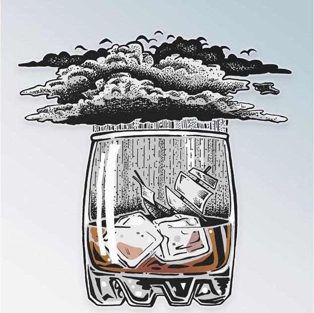 Dashed On The Rocks #art #design #drink