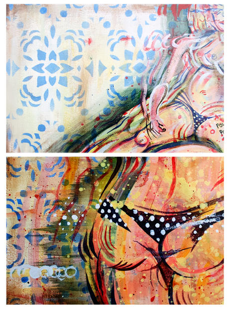 Fig Diptych