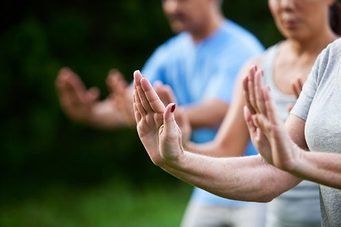 Morning Qi gong class in Brixton South London