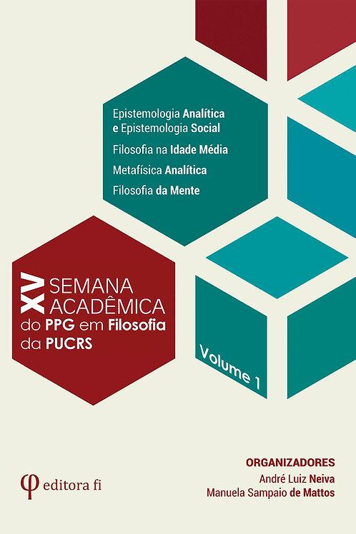 XV Semana Acadêmica - Volume 1