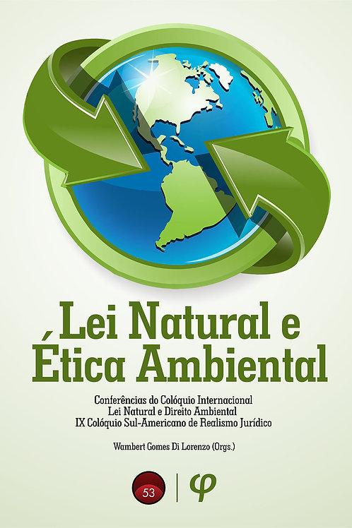Lei natural e ética ambiental: conferências do Colóquio Internacional Lei Natura