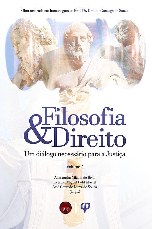 Filosofia e Direito: um diálogo necessário para a Justiça, Vol. 2