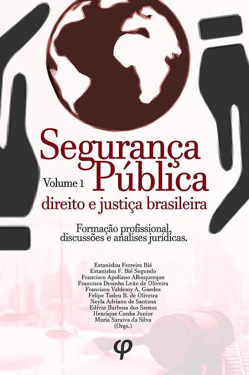 Segurança pública, direito e justiça brasileira, volume 1