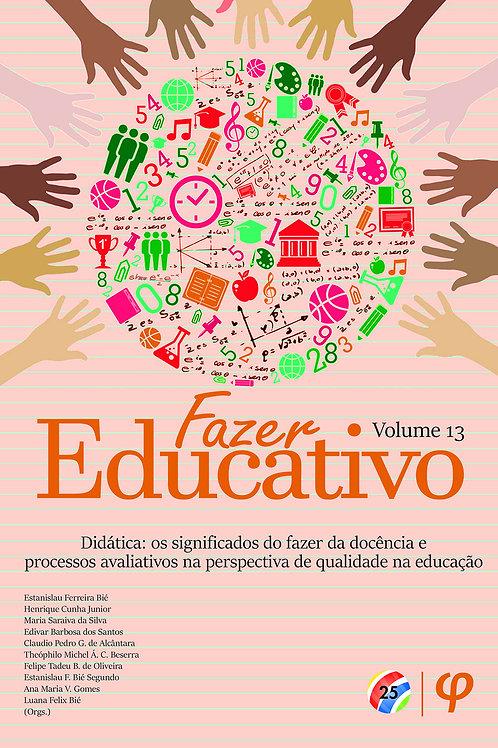 Fazer educativo, volume 13