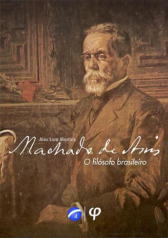 Arte de capa: Machado de Assis c. 1905, pintado por Henrique Bernardelli.