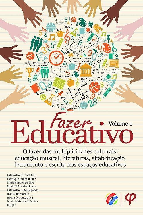 Fazer educativo, volume 1