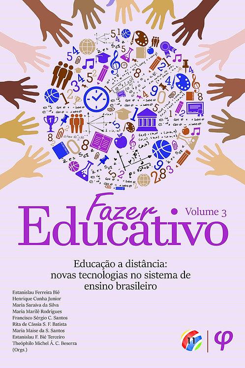 Fazer educativo, volume 3