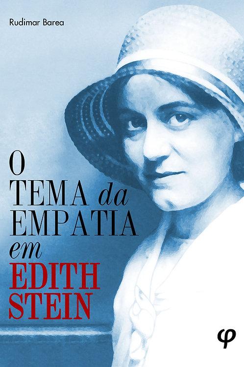 O tema da empatia em Edith Stein - Rudimar Barea
