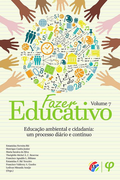 Fazer educativo, volume 7
