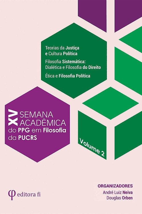 XV Semana Acadêmica - Volume 2