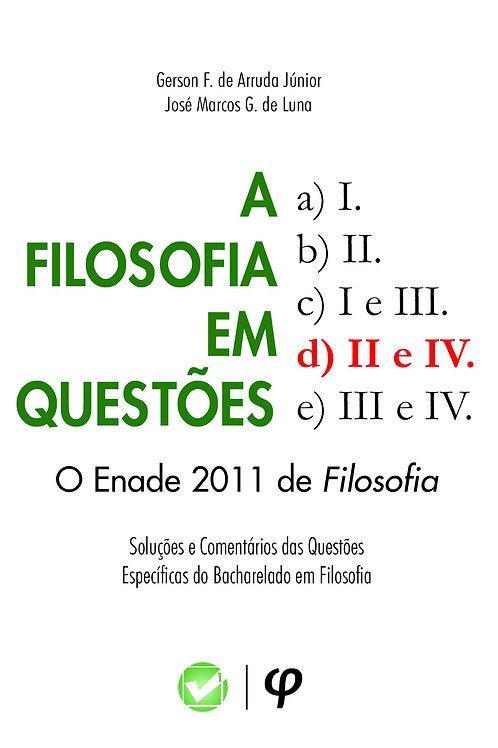 A filosofia em questões: o Enade 2011 de filosofia