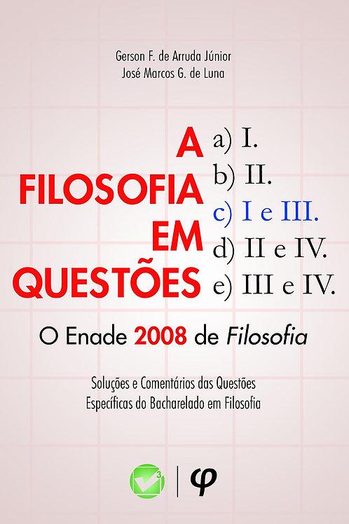 A filosofia em questões: o Enade 2008 de filosofia