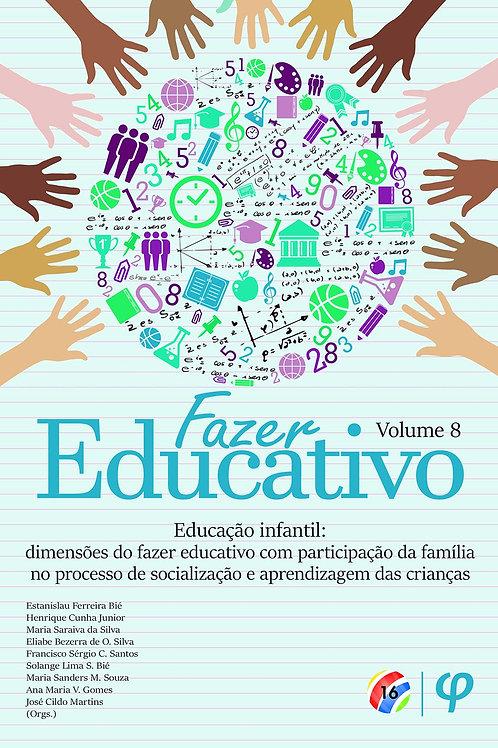 Fazer educativo, volume 8
