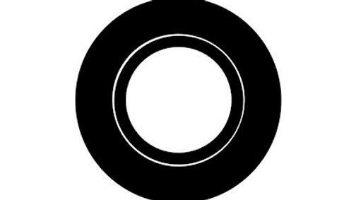 Collerette Spot LED noir mat orientable