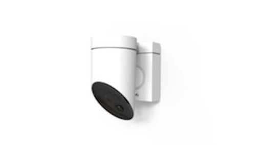 Caméra de surveillance connectée ext blanc
