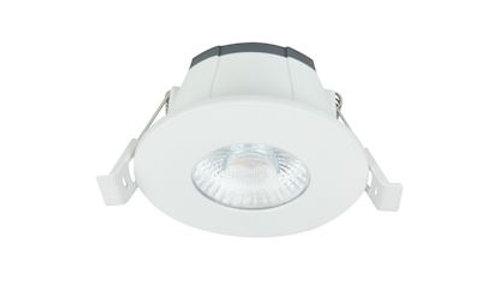 Spot LED rond 6W fixe blanc 3000K