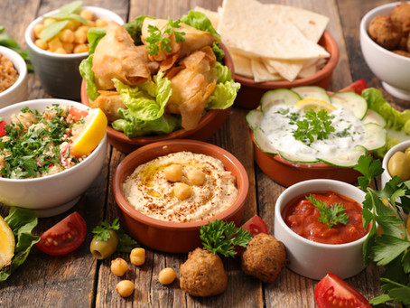 What is a Lebanese Mezze?