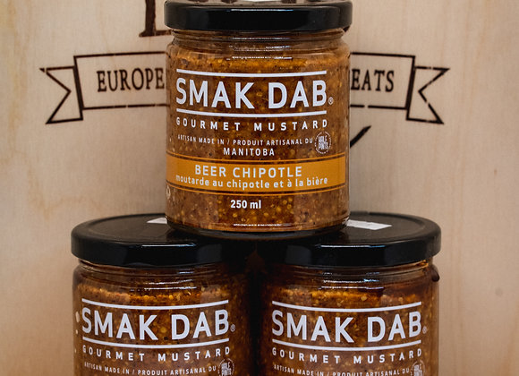 Beer Chipotle Mustard - Smak Dab