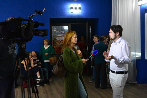Интервью с телеканалом РОССИЯ