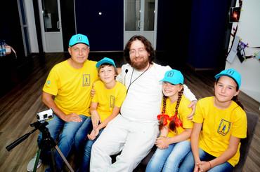 Гость фестиваля Илья Белостоцкий и МакаровФильм