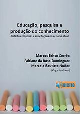 Capa_Educação pesquisa e produção do con