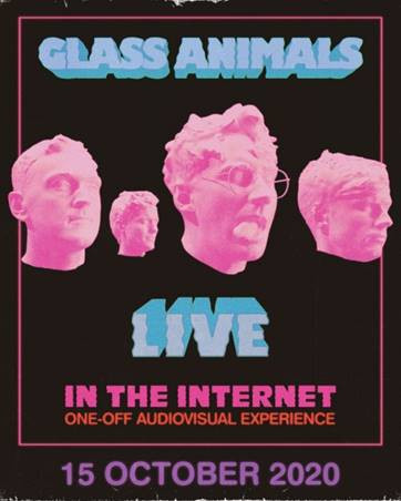Glass Animals Announce Special 'Live In The Internet' Live-Stream Broadcast