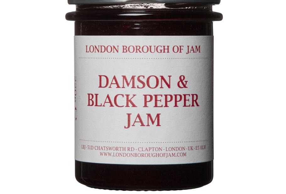Damson and Black Pepper Jam