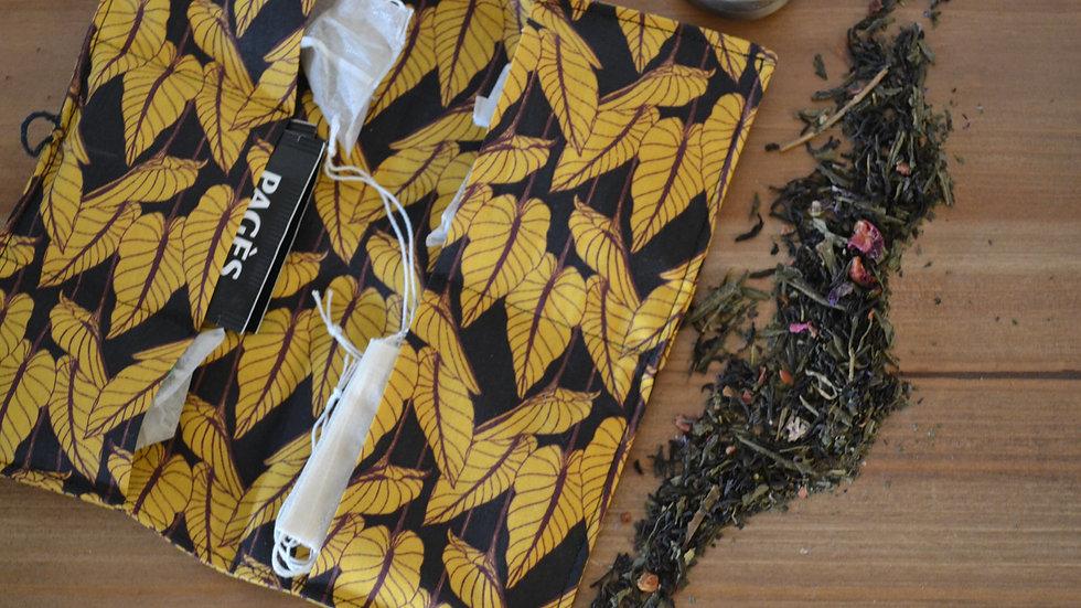 Portefeuille à sachets de thé