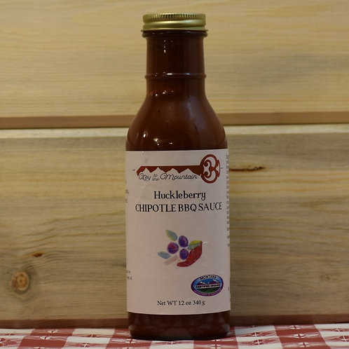 Huckleberry Chipotle BBQ Sauce