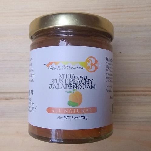 Just Peachy Jalapeno Jam