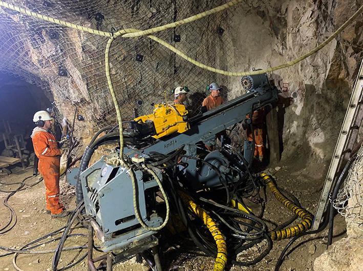 Drilling set up