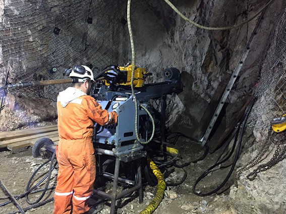 Commenced drilling
