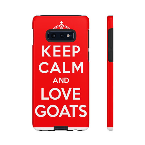 The Sweet Life Farm  Goat Tough Cell Phone Case Case iPhone Samsun Galaxy