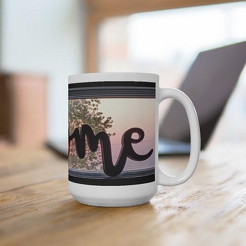 The Sweet Life Farm Home White Ceramic Coffee Tea Hot Chocolate Mug