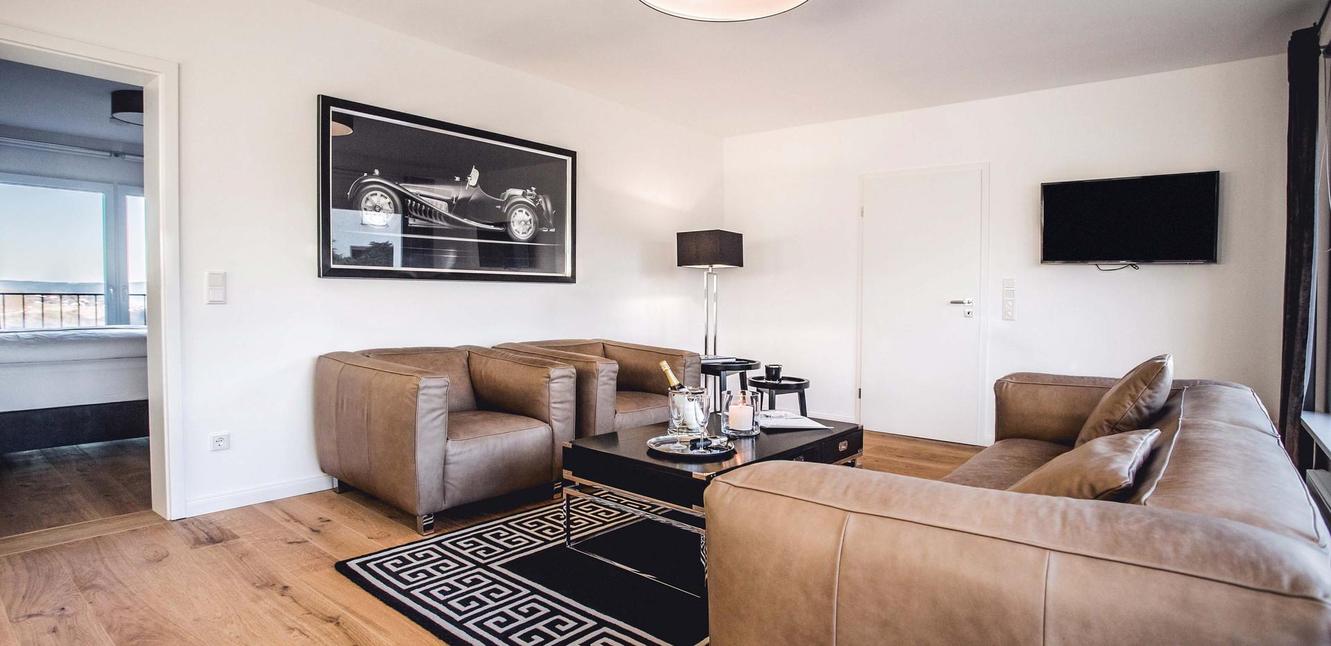 Oliver 92 Ferienwohnung Nürburgring Wohnung 2_Wohnzimmer