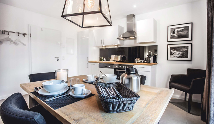 Oliver 92 Ferienwohnung Nürburgring Wohnung 2_Küche