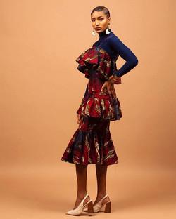 Triple peplum dress ! _CONFIDENCE by #queenecollection _D
