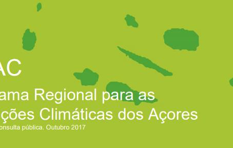 Conferência Final do Programa Regional para as Alterações Climáticas dos Açores (PRAC)