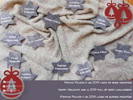 Festas Felizes / Season's Greetings / Fiestas Felices | 2018-2019