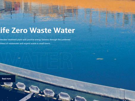 Novo projeto: LIFE ZERO WASTE WATER