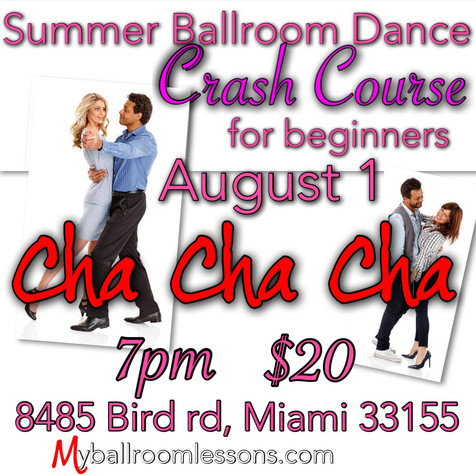 Let's do the Cha-Cha
