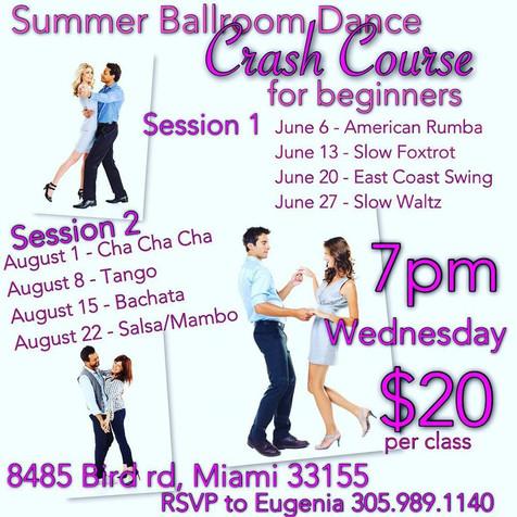 Summer Ballroom Dance Crash Course for Beginners