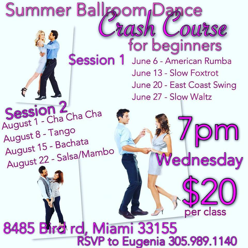 In a few days this exciting dance program will begin, we are looking forward to meeting our new studnts. For classes wear comfortable clothes and shoes (if you have dance shoes, it is best if you wear them!) Cost is $20, cash and checks accepted only!! See you on the dance floor!