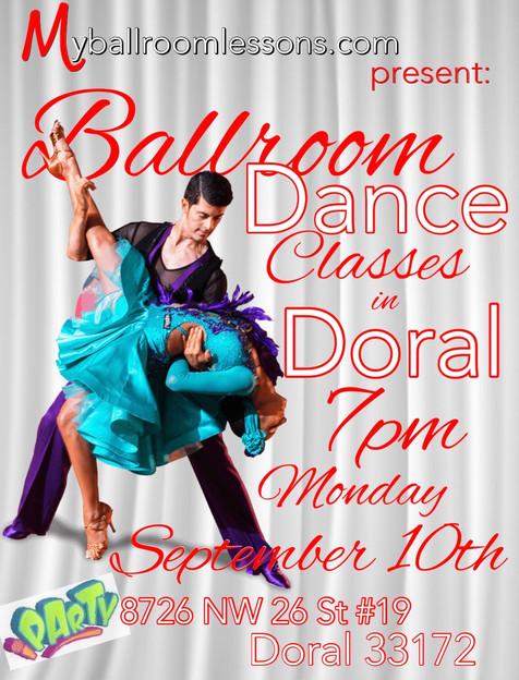 Ballroom Dance Crash Course for Beginners in Doral, Fl