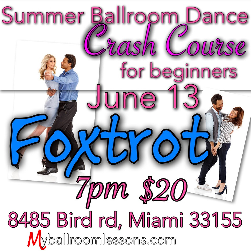 Miami ballroom dancing with Eugenia Spotar